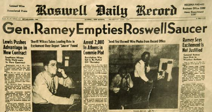 Roswell conspiracy theory 'expert' claims UFO crash DID happen… and says a leaked US government document she's seen proves it